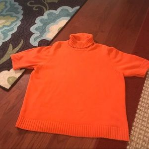 Ralph Lauren Short Sleeve Turtleneck Sweater